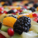 Three Holiday Desserts #1 Gingersnap Fruit Pizza