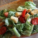 Chicken Ceasar Salad Sandwiches