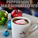 Homemade Peppermint Marshmallows & Hot Chocolate