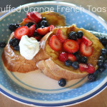 Stuffed Orange French Toast