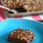 Lindi's Famous Chocolate Sheet Cake