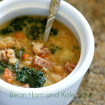 Bean Ham and Kale Soup
