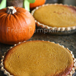 Pumpkin Pie (Made with a real pumpkin!)