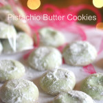 Pistachio Wedding Cookies