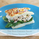 Chicken Salad with Sugar Spiced Pecans