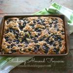 Blueberry Almond Focaccia