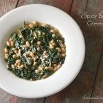 Spicy Beans and Greens Stew