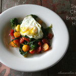 Swiss Chard Breakfast Hash