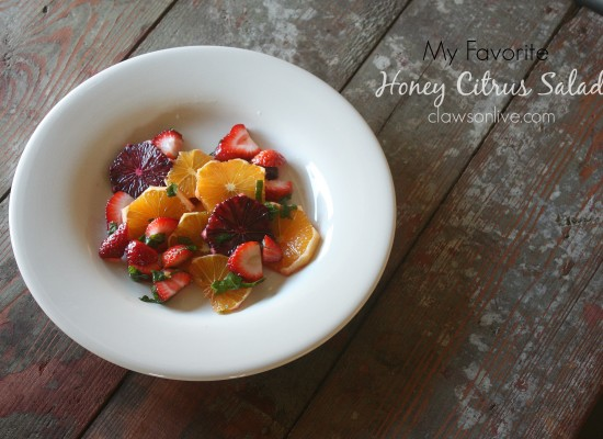 Honey Citrus Salad (My Absolute Fave!)