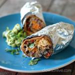 Fajita Chicken Burritos