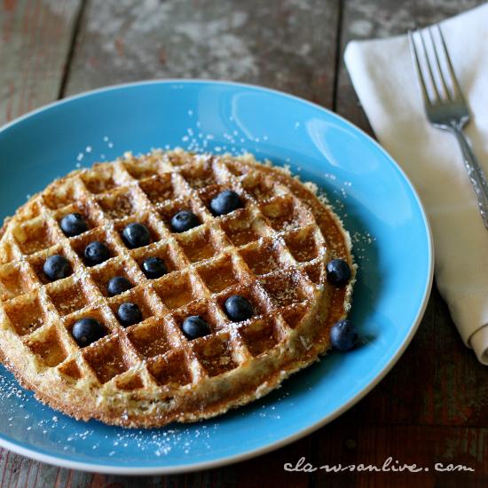 Quinoa Protein Power Waffle