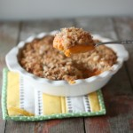 Coconut Crusted Sweet Potato Pie